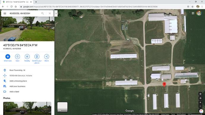 40°51'30.1_N 84°55'24.9_W - Google Maps - Google Chrome 6_24_2020 3_29_59 PM